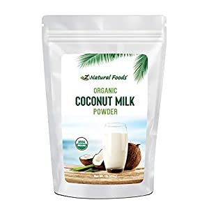 Z Natural Foods Organic Coconut Milk Powder – All Natural Creamer