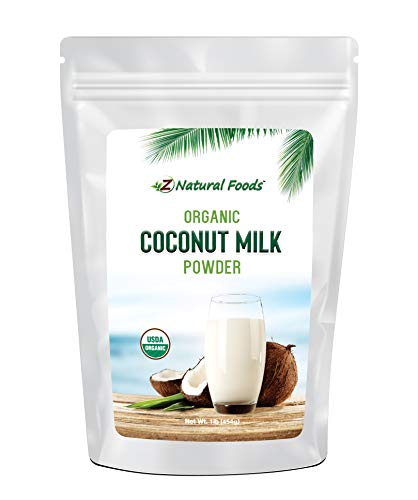 Z Natural Foods Organic Coconut Milk Powder - All Natural Creamer ()