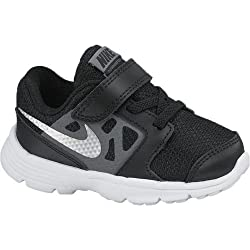 Nike Baby Boy's Downshifter 6 Athletic Shoes (2 Infant M, Black/Mtllc Slver/Cl Gry/White)