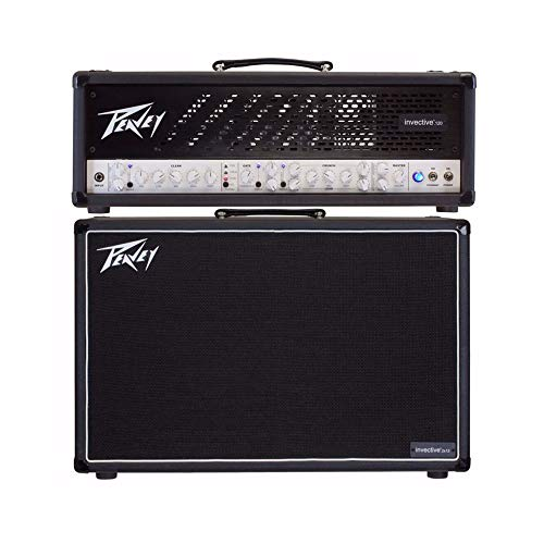 - Peavey Invective.120 120W Tube Guitar Amp Head & 212. 120W 2x12 Guitar Speaker Cabinet Combo Last USA Made Batch!!!