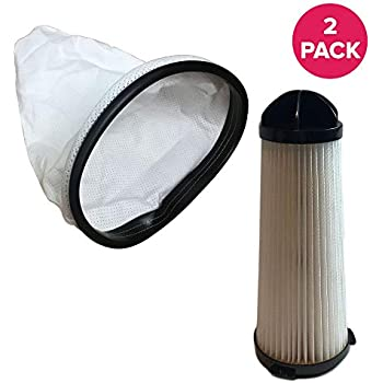 Think Crucial Replacement for Hoover Backpack Vacuum Bag & HEPA Style Filter Fits C2401 Commercial Backpack, Compatible with Part # 2KE2110000 & 2-KE2110- ...