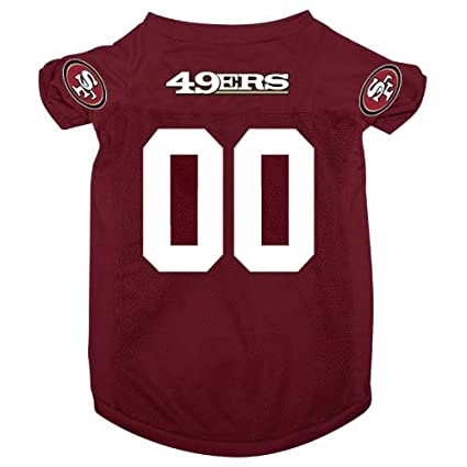 96dccf962 Amazon.com   Hunter MFG San Francisco 49ers Dog Jersey