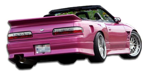 1989-1994 Nissan 240SX 2DR Duraflex V-Speed Rear Bumper Cover - 1 (240sx V-speed Rear Bumper)
