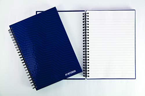 Summit A4, rayas, 160 p/áginas, 5 unidades Cuaderno de tapa dura