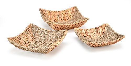 Trademark Innovations Modern Basket, 3 pieza