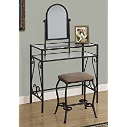 Monarch 2 Piece Vanity Set, Brown
