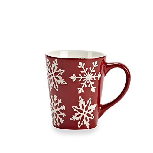 Abbott Collection Snowflake Mug, Red ()