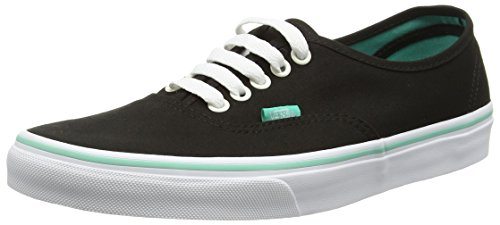 Vans Authentic (Iridescent Eyelets) Black- Women's Sk8 Size 8 by VANS