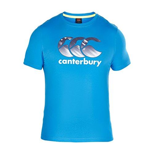 CANTERBURY Herren CCC Logo T-Shirt-Atomic Blau, L
