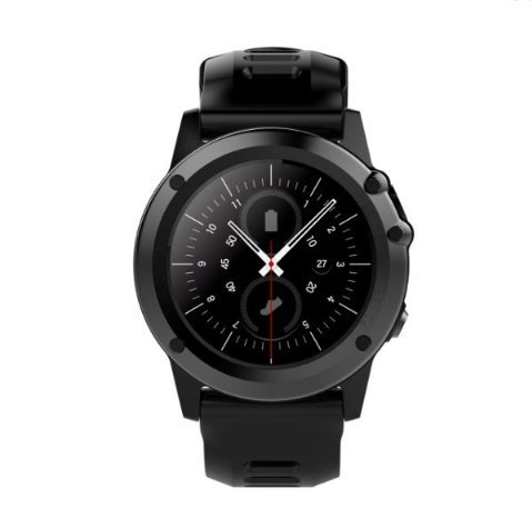 3b8fb625ea2978 Image Unavailable. Image not available for. Color: Microwear H1 1.39inch  Super AMOLED 4GB GPS 3G WIFI Camera IP68 Heart Rate Monitor Smart
