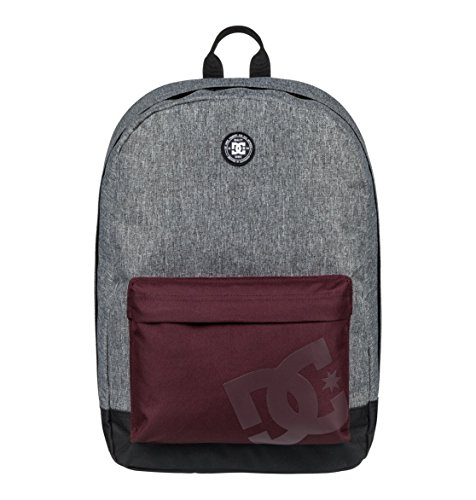 DC Young Men's Backstack Cb Accessory, -charcoal heather, 1SZ (Dc Shoes Mens Backpack)