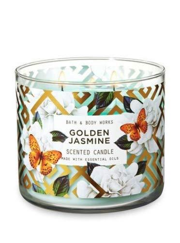 (White Barn Bath & Body Wroks 3 Wick Candle Golden Jasmine)
