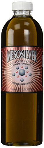 MesoSilver  20 ppm Colloidal Silver 500 mL16.9 Oz