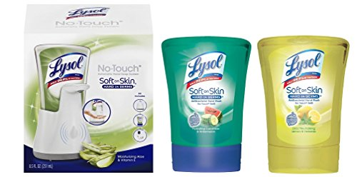 Lysol No Touch Hand Soap System - 9