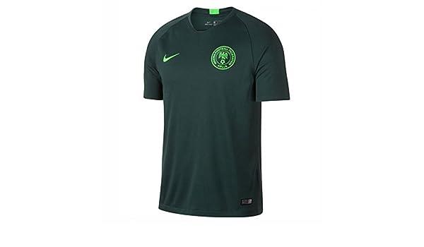 2a6f3eb3e Nike 2018-2019 Nigeria Away Football Shirt  Amazon.es  Deportes y aire libre