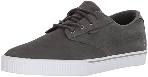 Etnies Men's Jameson Vulc Skate Shoe, Dark Grey, 7.5 Medium US