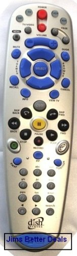 Dish Network 6.0 IR. UHF. Pro Tv2 DVR Remote Control Receiver 522 625