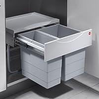 Hailo 3644701Collecteur de déchets TR Swing 50.2/30 armoires d'une Largeur Minimale de 500 mm Porte pivotante
