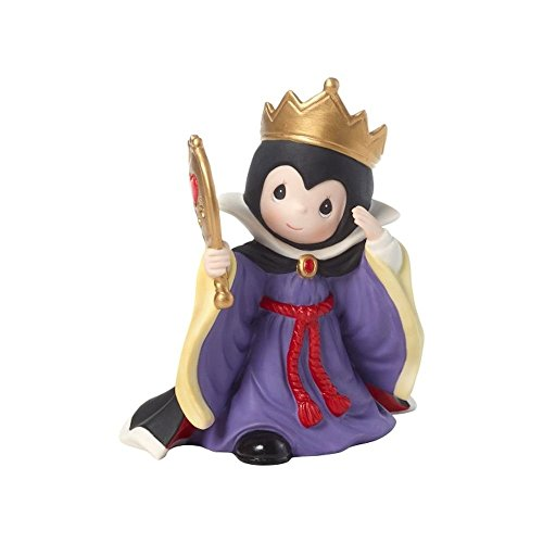 Precious Moments Company Disney Showcase Evil Queen You are The Fairest One of All Bisque Poreclain 181094 Figurine Size, Multi ()