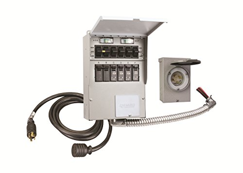 Reliance Controls 306CRK Pro/Tran-2 6 Circuit Transfer Switch Kit by Reliance Control Corporation (Image #1)