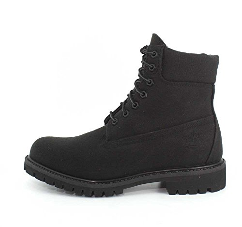 Timberland Mens 6 Premium Fabric Boot Jet Black cStRx