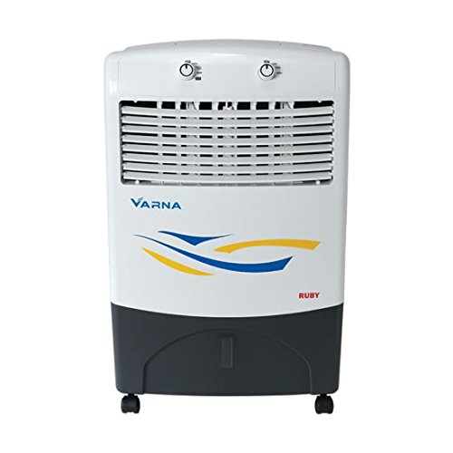 Varna CP2016B Ruby Water Evaporative Personal Air Cooler - White