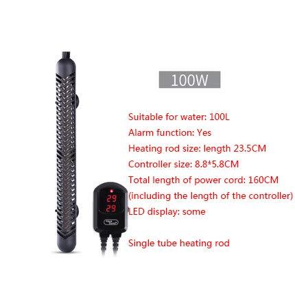 - Fish Bowl Heater - 50 watt Aquarium Heater - 10 Gallon Aquarium Heater - Heater Fish Tank - 10 Gallon Heater - Fish Tank Heater 55 Gallon - 5 Gallon Fish Tank Heater