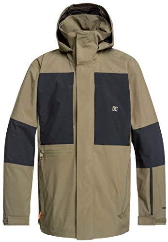 DC Command Snowboard Jacket Mens Sz M Olive Night