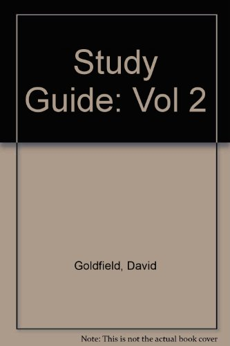American Journey: History of the US, Vol. 2, Study Guide