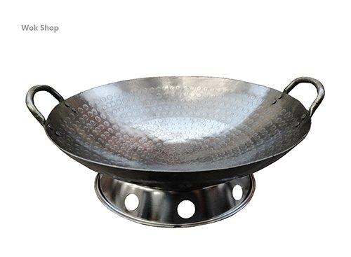 Bottom round woks