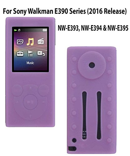 Silicone Case for Sony Walkman Digital Music Players NW-E390 Series, NW-E393, NW-E394, NW-E395 (2016 Release), (Digital Player Silicone)