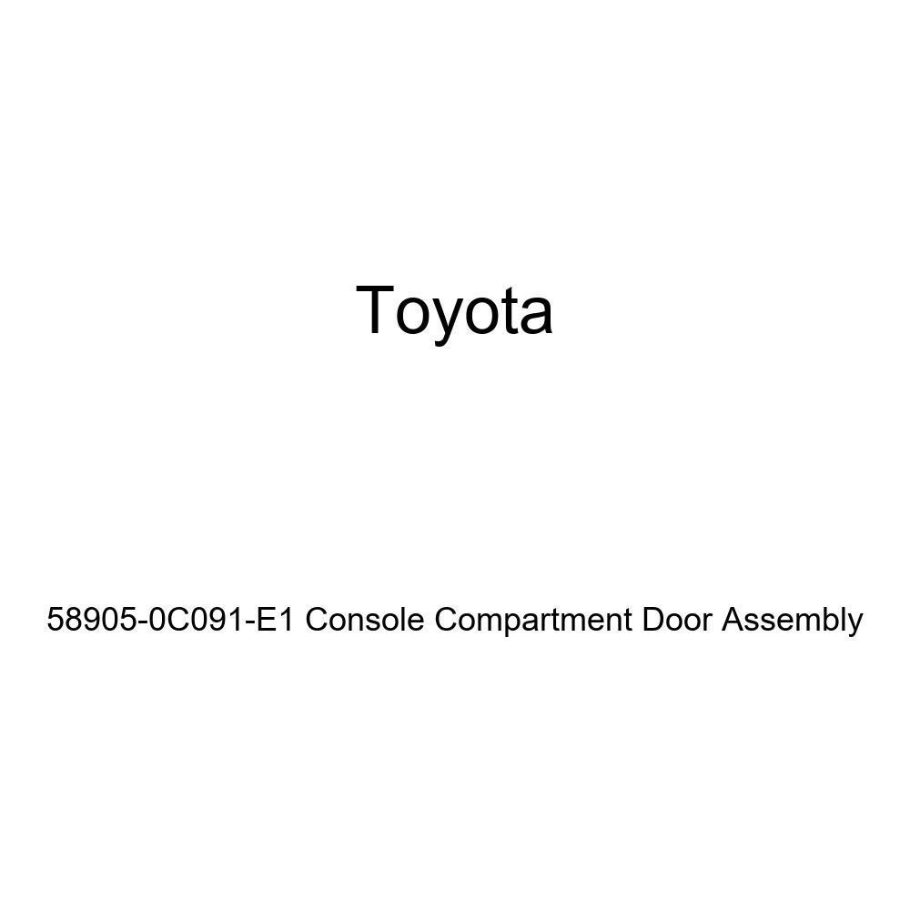 Genuine Toyota 58905-0C091-E1 Console Compartment Door Assembly