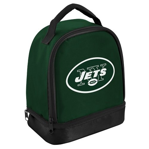 New York Jets Double Compartment Lunch Cooler