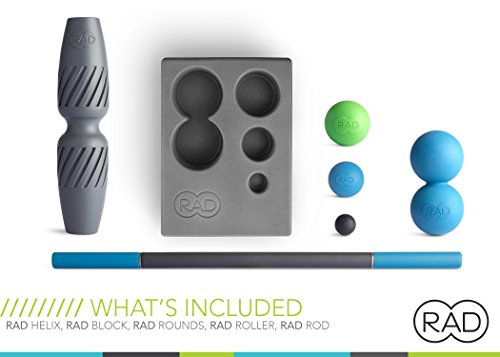 RAD All In Kit I Myofascial Release Tools I Multiple Densities I Self Massage Mobility and Recovery by RAD (Image #1)