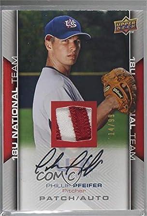 Amazoncom Phillip Pfeifer 1499 Baseball Card 2009 Upper Deck