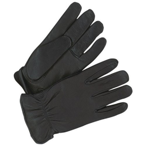 - Bob Dale 20-9-368-L Premium Grain Leather Deerskin Driver Glove, Large, Black by Bob Dale