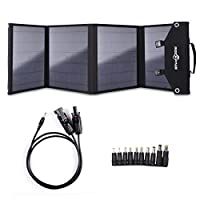ROCKPALS Foldable 60W Solar Panel Charge...