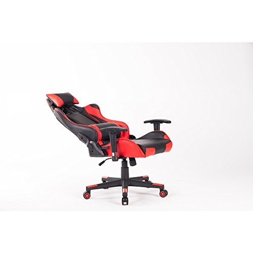 41Yb 2H2ugL - ship-from-US-HOMEFUN-High-back-Gaming-chair-Racing-Style-with-Headrest-and-Lumbar-Support-Office-Chair
