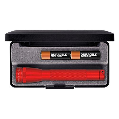 Maglite Mini Incandescent 2-Cell AA Flashlight in Presentation Box, ()