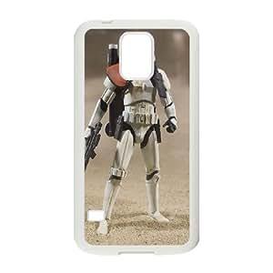 Star Wars Luke Skywalker Samsung Galaxy S5 Cell Phone Case White O6654419