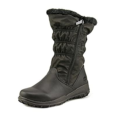 Amazon.com | Totes Frost Women Round Toe Synthetic Black