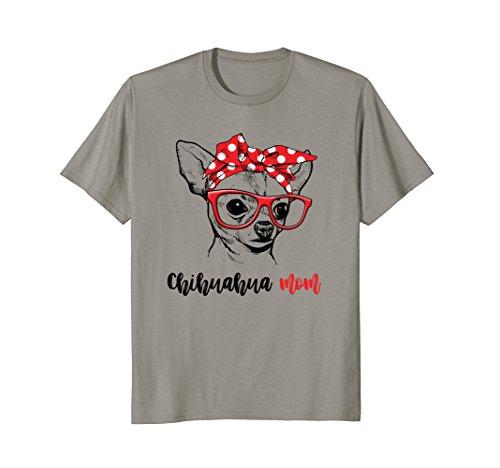 Chihuahua Mom T Shirt Gift For Women
