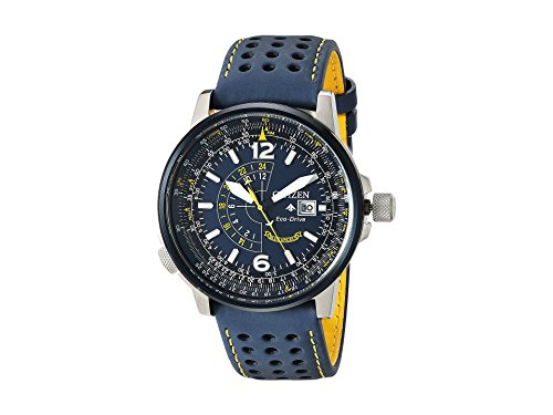 Citizen Watches Men's BJ7007-02L Eco-Drive Blue One Size