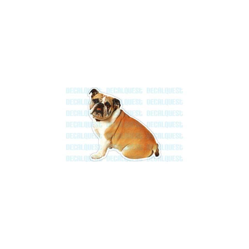 BULLDOG   Dog Decal   sticker bull dogs car got window