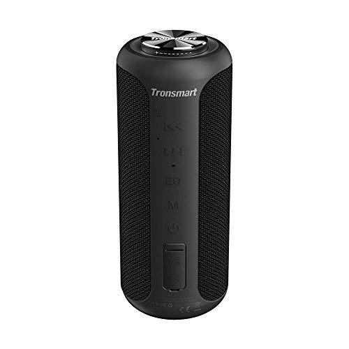 Tronsmart T6 Plus Edición Mejorada Altavoz Bluetooth 40W, Altavoz Portatil Sonido Estéreo 360°TWS, Efecto de Triple Bajo…