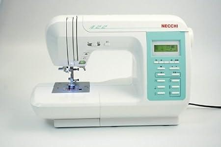 Necchi N422 Eléctrico - Máquina de coser (Blanco, Costura, 5 mm ...