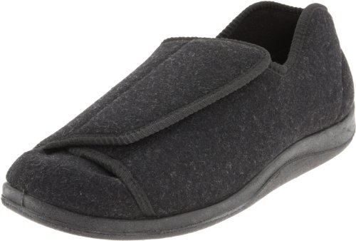 Foamtreads Men's Doctor,Charcoal Wool,9 M US