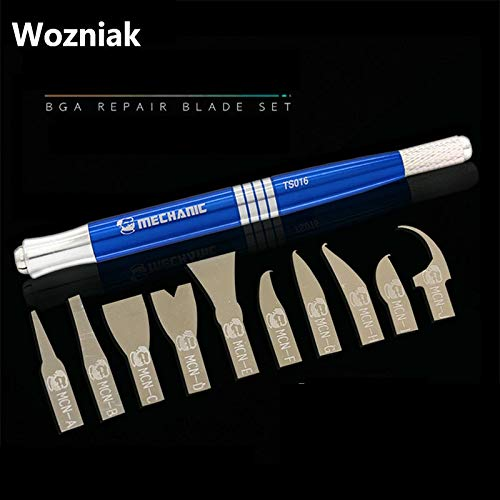 (1 piece Wozniak CPU IC Glue Removal Knife Blade Pry Knife Mobile Phone Motherboard Maintenance Chip Disassemble Tool)