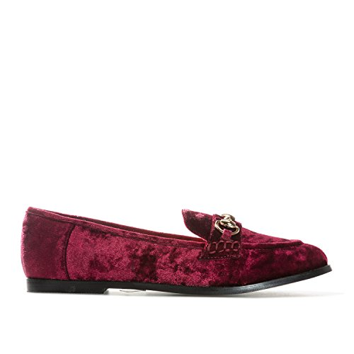 Wein Velvet Glamorous Loafers in Womens BIBxpq10