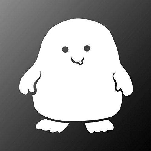 Doctor Who Adipose Decal Sticker Car Home Laptop Dye-cut 5 In Keen156 Keen Commodities